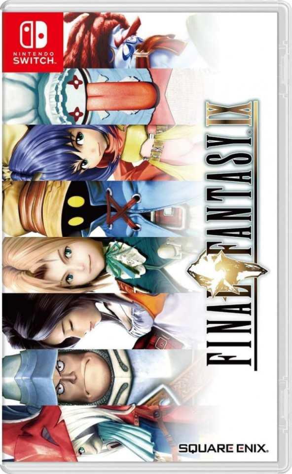 final fantasy ix retail asia multi-language release nintendo switch cover www.limitedgamenews.com