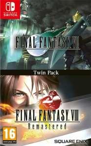 final fantasy vii final fantasy viii remastered twin pack retail asia multi-language release nintendo switch cover www.limitedgamenews.com
