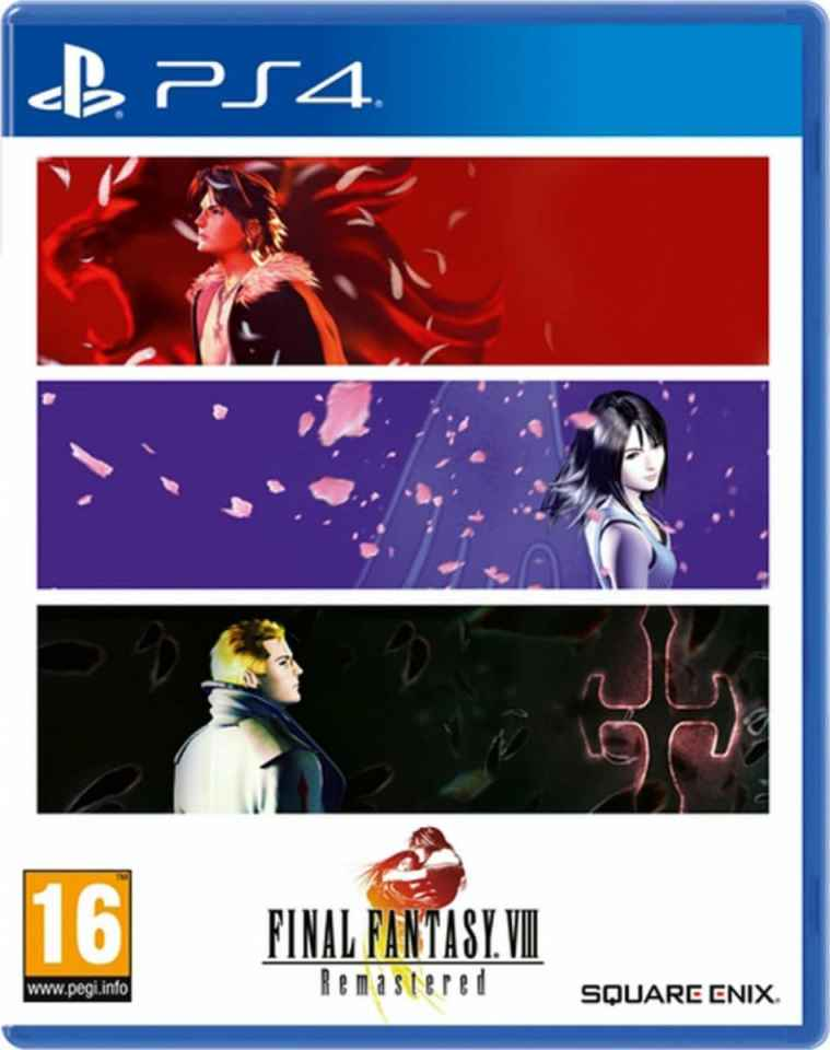 final fantasy viii remastered retail asia multi-language release playstation 4 cover www.limitedgamenews.com