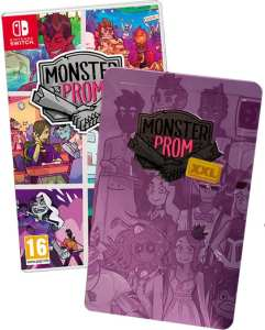 monster prom xxl retail super rare games standard edition plus steelbook nintendo switch cover www.limitedgamenews.com
