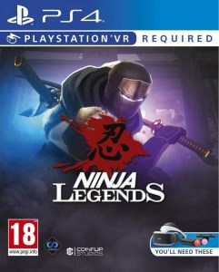 ninja legends retail perp games playstation vr cover www.limitedgamenews.com