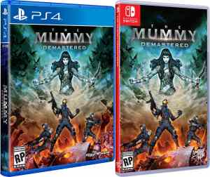 the mummy demastered retail limited run games standard edition release playstation 4 nintendo switch cover www.limitedgamenews.com