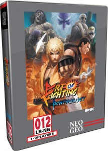 art of fighting physical retail release collectors edition limited run games playstation 4 cover www.limitedgamenews.com