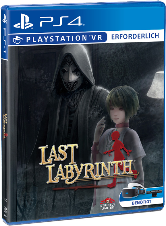 last labyrinth physical retail release standard edition strictly limited games 3rd anniversary playstation 4 psvr cover www.limitedgamenews.com