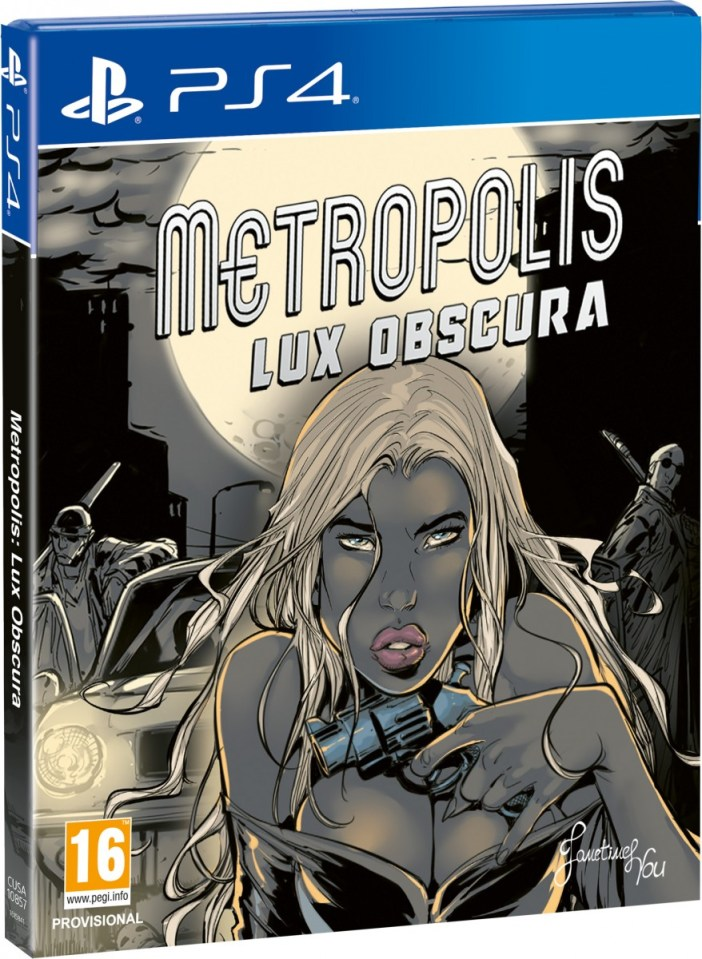 metropolis lux obscura physical retail release red art games playstation 4 cover www.limitedgamenews.com