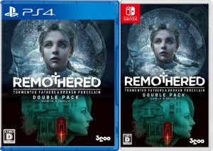 remothered tormented fathers broken porcelain double pack asia multi-language retail release playstation 4 nintendo switch cover www.limitedgamenews.com