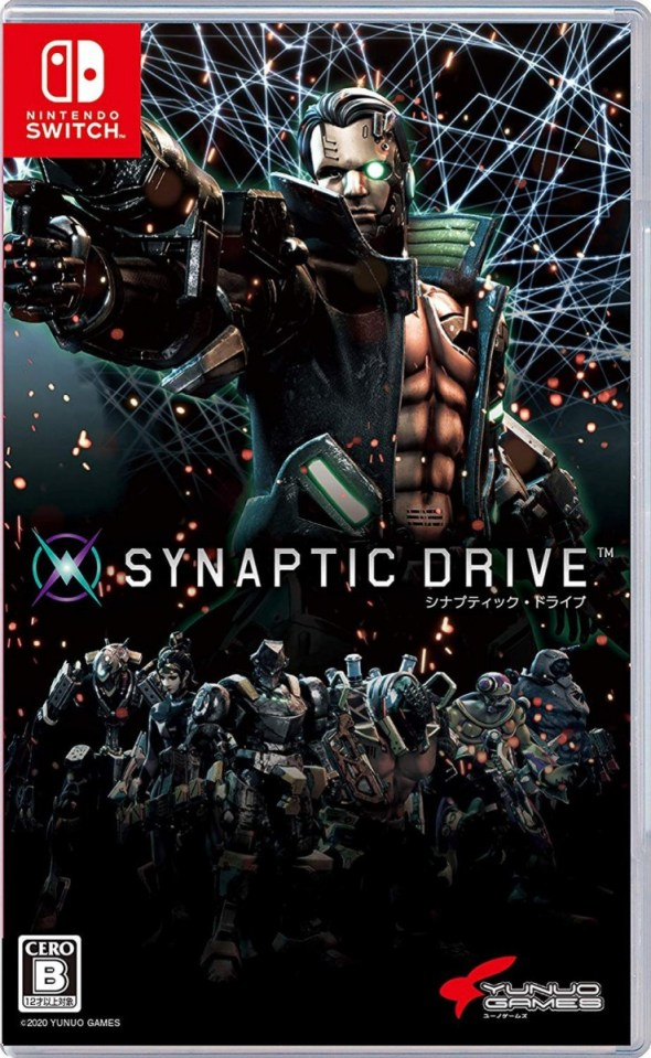 synaptic drive physical asia multi-language retail release nintendo switch cover www.limitedgamenews.com