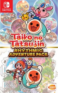 taiko no tatsujin rhythmic adventure pack asia multi-language physical retail release nintendo switch cover www.limitedgamenews.com