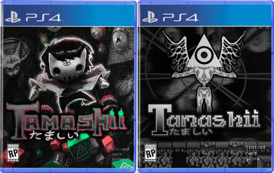 tamashii pyhsical retail release limited rare games playstation 4 cover variant a b www.limitedgamenews.com