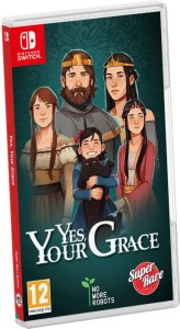 yes your grace physical retail release super rare games nintendo switch cover www.limitedgamenews.com