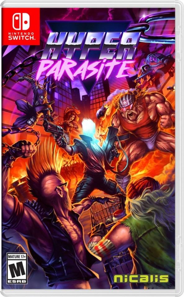 hyperparasite physical retail release nintendo switch cover www.limitedgamenews.com