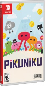 pikuniku physical retail release standard edition special reserve games limited run games cover variant nintendo switch cover www.limitedgamenews.com