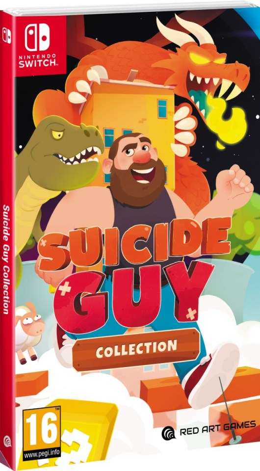 suicide guy collection physical retail release red art games nintendo switch cover www.limitedgamenews.com