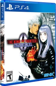 the king of fighters 2000 standard edition physical retail release limited run games playstation 4 cover www.limitedgamenews.com