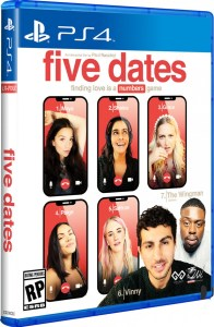 five dates physical retail release limited run games playstation 4 cover www.limitedgamenews.com