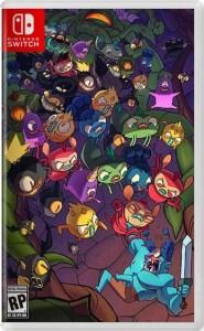 grindstone physical retail release iam8bit nintendo switch cover www.limitedgamenews.com