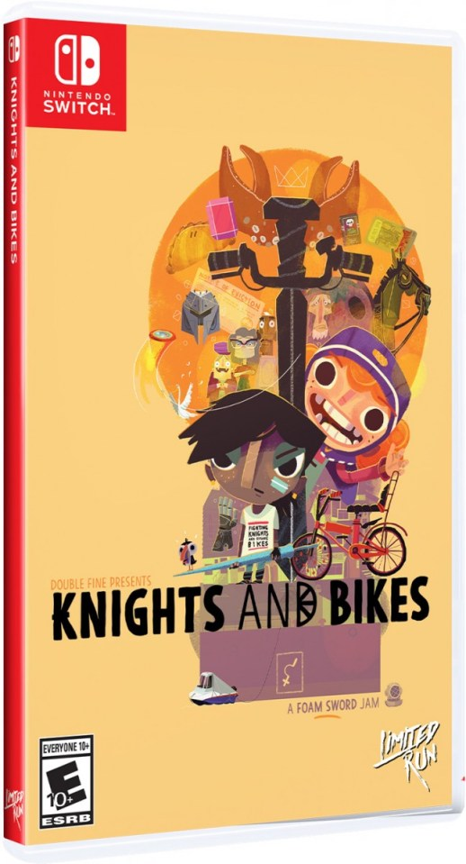 knights and bikes physical retail release limited run games nintendo switch www.limitedgamenews.com