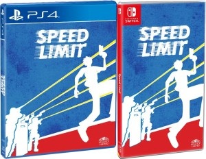 speed limit physical retail release strictly limited games playstation 4 nintendo switch cover www.limitedgamenews.com