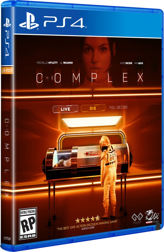the complex physical retail release limited run games playstation 4 cover www.limitedgamenews.com