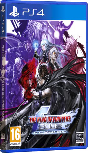 the king of fighters 2002 unlimited match standard edition physical retail release pix n love www.limitedgamenews.com