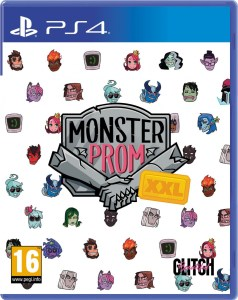 monster prom xxl physical retail release super rare games playstation 4 cover www.limitedgamenews.com