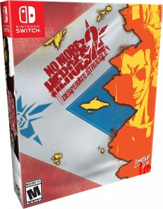 no more heroes 2 desperate struggle physical retail release collectors edition nintendo switch cover www.limitedgamenews.com