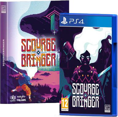 scourgebringer collectors edition physical retail release pix n love playstation 4 cover www.limitedgamenews.com