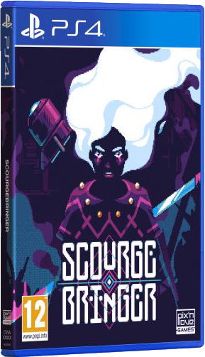 scourgebringer standard edition physical retail release pix n love playstation 4 cover www.limitedgamenews.com