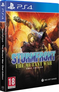 sturmfront the mutant war übel edition physical retail release red art games playstation 4 cover www.limitedgamenews.com