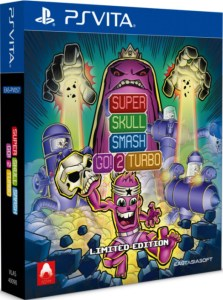 super skull smash go 2 turbo physical retail release limited edition eastasiasoft playstation vita cover www.limitedgamenews.com