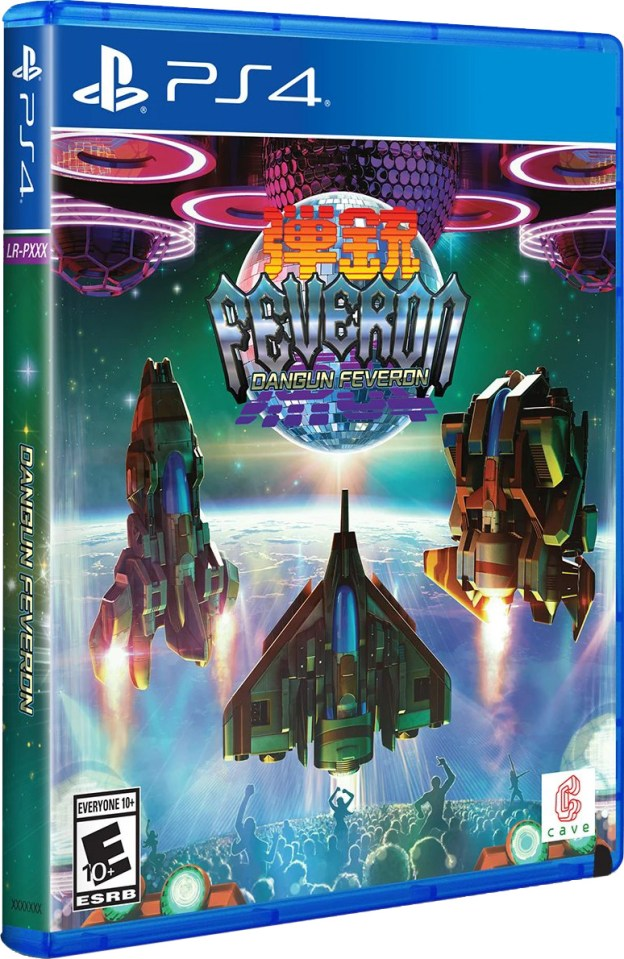 dangun feveron physical retail game limited run games standard edition playstation 4 www.limitedgamenews.com
