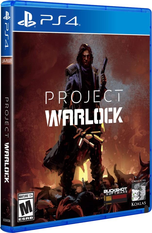 project warlock physical retail game limited run games playstation 4 www.limitedgamenews.com