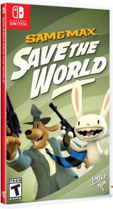 sam & max save the world physical retail release standard edition limited run games nintendo switch cover www.limitedgamenews.com