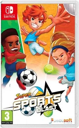 super sports blast physical retail release jandusoft ultra collectors nintendo switch cover www.limitedgamenews.com