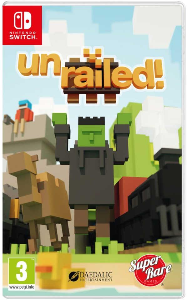 unrailed! physical retail release super rare games nintendo switch cover www.limitedgamenews.com