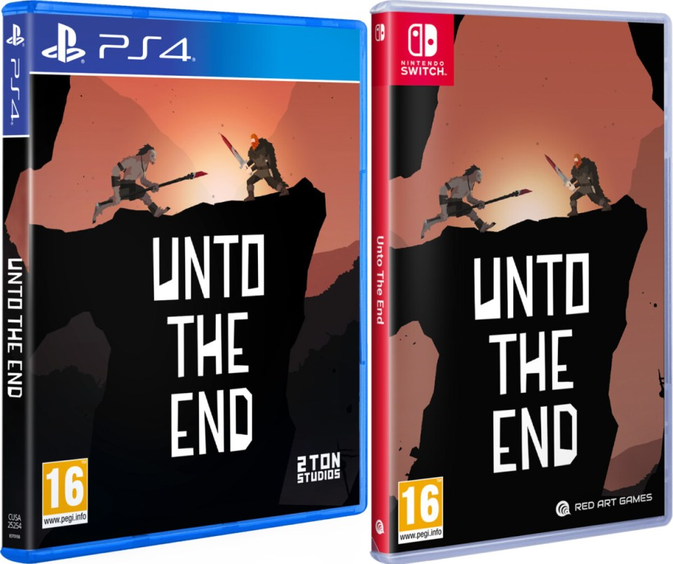 unto the end physical retail release red art games playstation 4 nintendo switch cover www.limitedgamenews.com