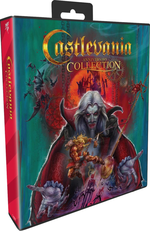 castlevania anniversary collection physical retail release bloodlines edition limited run games nintendo playstation 4 nintendo switch cover www.limitedgamenews.com
