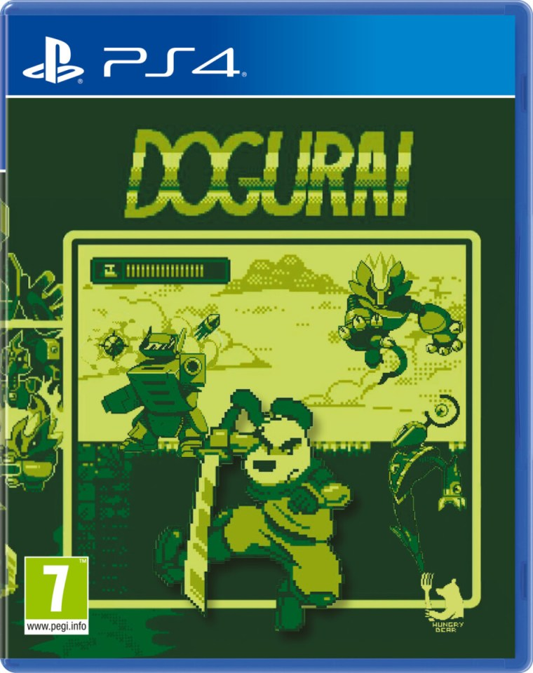 dogurai physical retail release red art games playstation 4 cover www.limitedgamenews.com