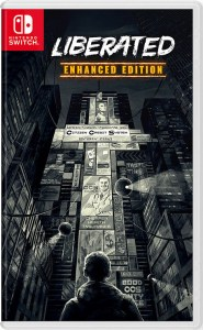 liberated enhanced edition standard edition physical retail release vgnysoft nintendo switch cover www.limitedgamenews.com