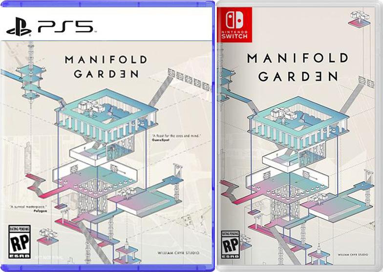 manifold garden physical retail release iam8bit playstation 4 nintendo switch cover www.limitedgamenews.com