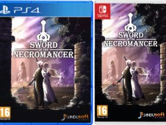 sword of the necromancer physical retail release standard edition ultra collectors playstation 4 nintendo switch cover www.limitedgamenews.com