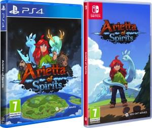arietta of spirits physical retail release standard edition playstation 4 nintendo switch cover www.limitedgamenews.com