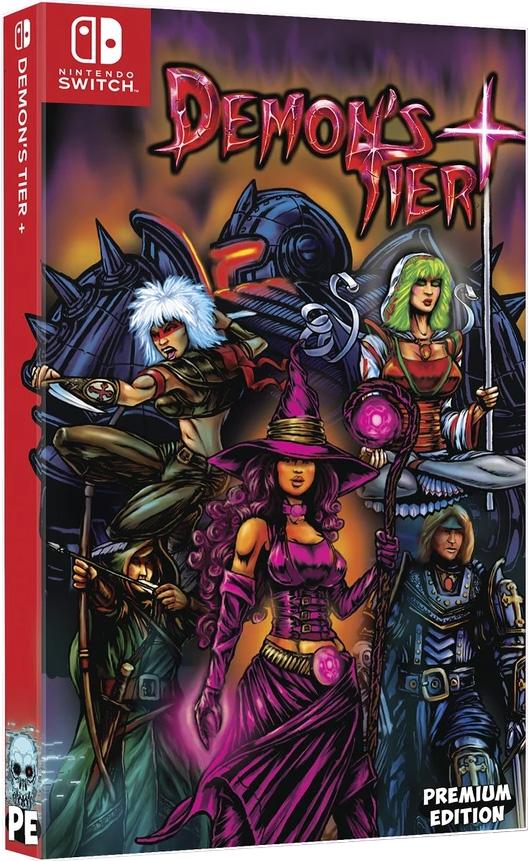 demons tier plus physical retail release premium edition games nintendo switch cover www.limitedgamenews.com