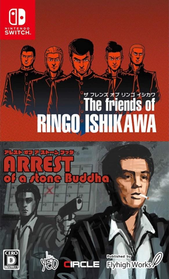 the friends of ringo ishikawa arrest of a stone buddah physical retail release asia english multi-language nintendo switch cover limitedgamenews.com