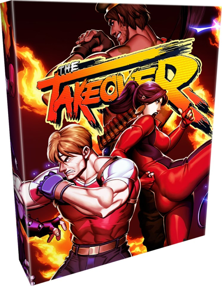 the takeover physical retail release collectors edition limited run games playstation 4 nintendo switch cover www.limitedgamenews.com