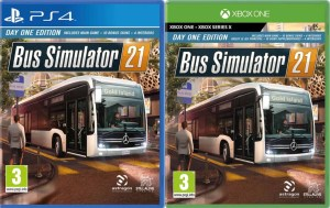 bus simulator 21 physical retail release europe xbox one xbox series x playstation 4 cover www.limitedgamenews.com