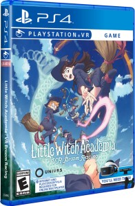 little witch academia vr broom racing physical retail release limited run games playstation vr cover www.limitedgamenews.com