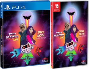 star hunter dx space moth lunar edition standard edition physical retail release strictly limited games playstation 4 nintendo switch cover www.limitedgamenews.com