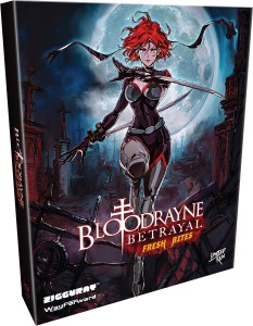 bloodrayne betrayal fresh bites collectors edition physical retail release limited run games playstation 4 playstation 5 nintendo switch cover www.limitedgamenews.com