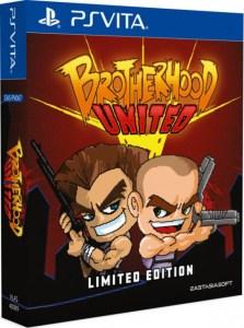 brotherhood united limited edition physical retail release asia English multi-language release eastasiasoft playstation vita cover www.limitedgamenews.com